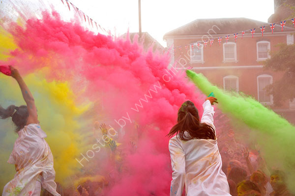 Festival of colour