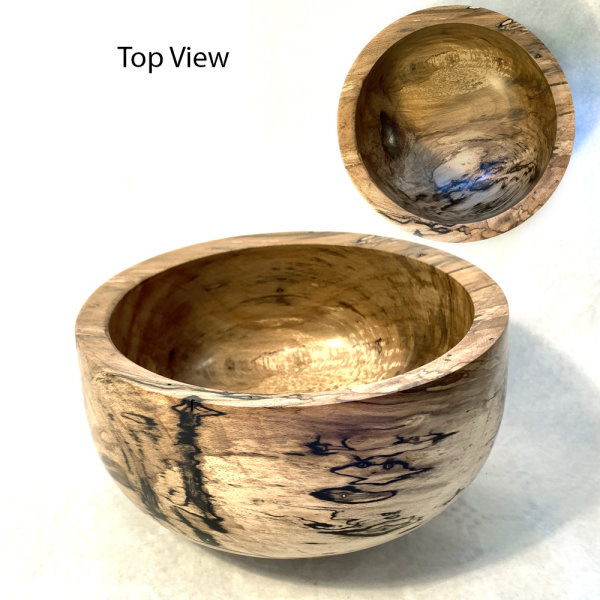 Spalted Beech Bowl - £80
