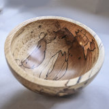 Spalted Beech Bowl - £35