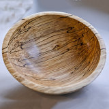 spalted Beech Bowl - £45