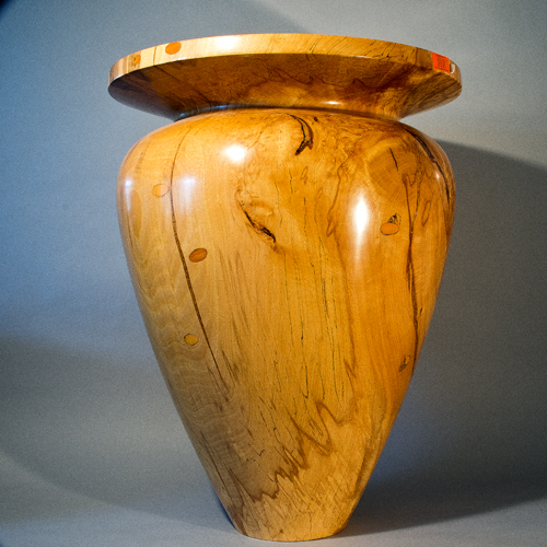 Very Large Spalted Beech Vase £2500