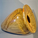 Very Large Spalted Beech Vase (3)