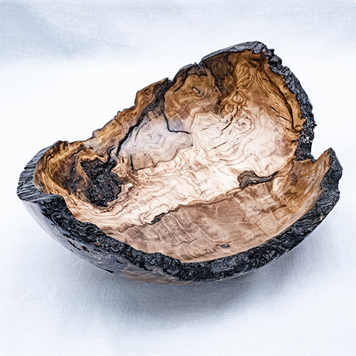 Natural Edge Olive Wood Bowl £70