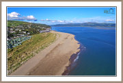 Aberdovey From 85meters Altitiude