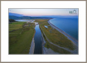 "The ""Afon Dysynni & Tywyn Beach ""Taken From 70 meters Altitude"
