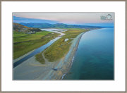 "The ""Afon Dysynni & Tywyn Beach ""Taken From 60 meters Altitude."