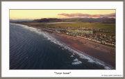 Tywyn Aerial Sunset