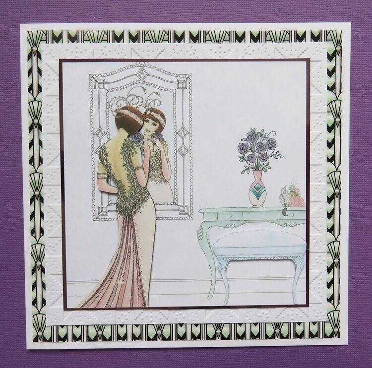 2001-Art Deco Lady 1