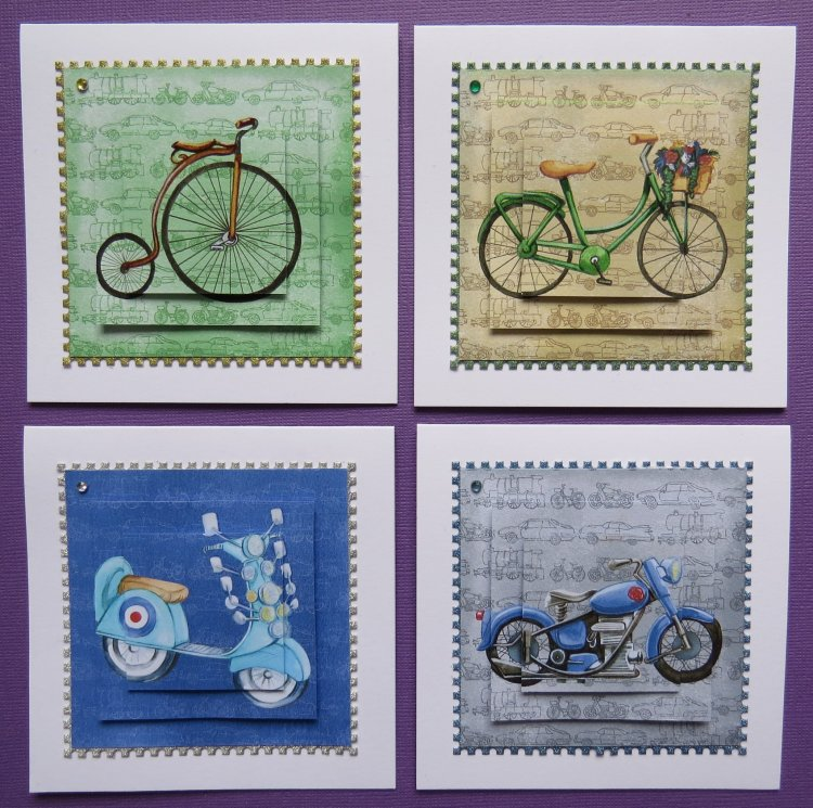 Bicycle Mode Notecards