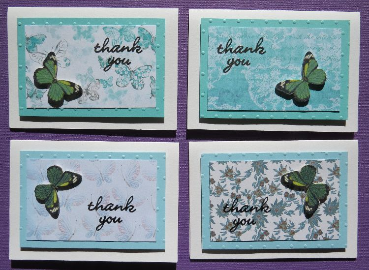 Butterfly Thank You Notecards