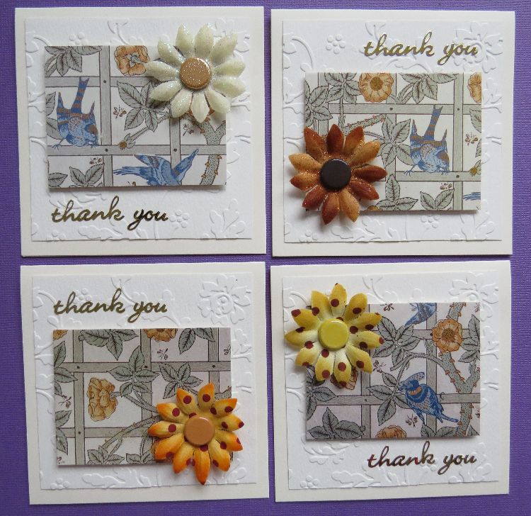 Flower Thank you Notecards