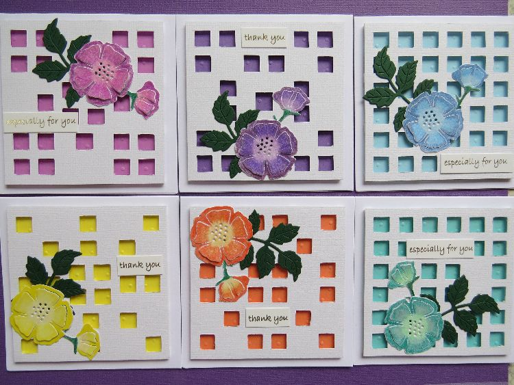 Flower Trelis Notecards