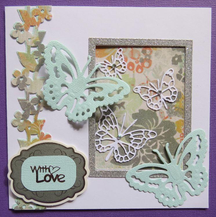 Butterflies Aperture Card