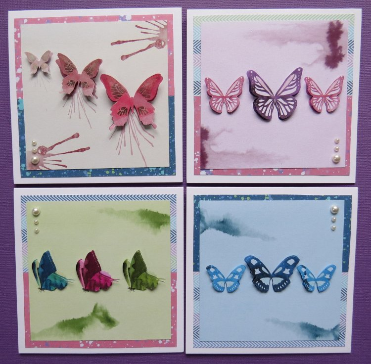 Butterfly Trio Notecards