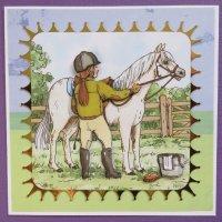 Girl & Horse 3