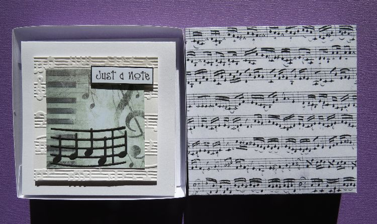 Music Just a Note Box