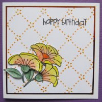 Yellow & Orange Flowers - Birthday