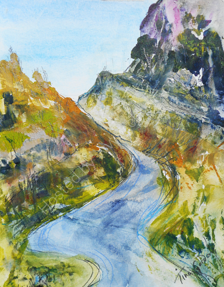 Cheddar Gorge SOLD