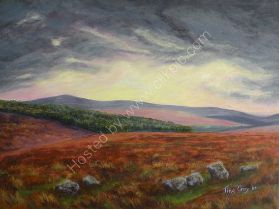 Dartmoor Sky - SOLD