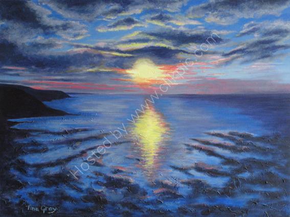 Estuary Sunset Clevedon