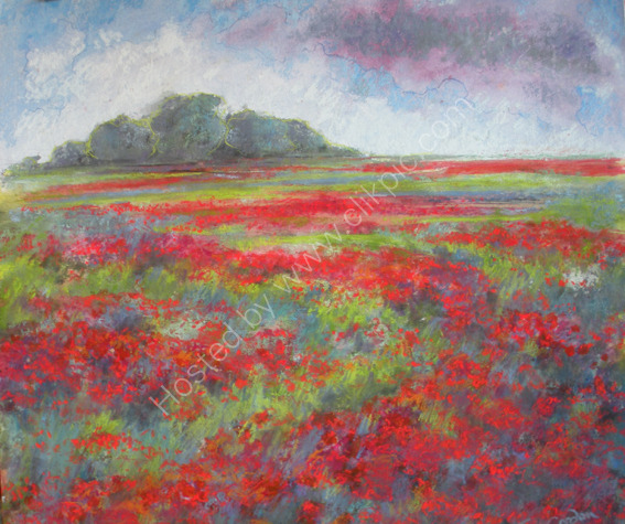 Poppies, North Somerset  SOLD