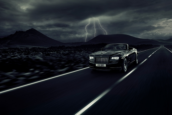 Rolls-Royce Wraith Black Badge | Beth Wightman
