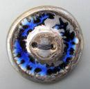 blue bronze button brooch 2013