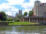 Bath Abbey from the River Severn