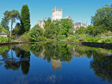 Wells cathredral & Bishops Palace gardens