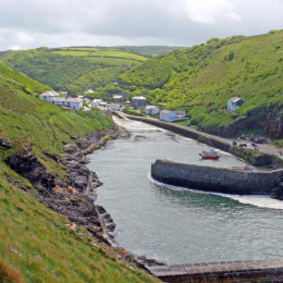 A view of Boscastle