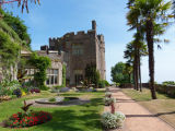 Dunster Castle terrace garden