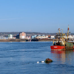 Exmouth from the sea