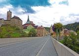 The Czech town of Loket
