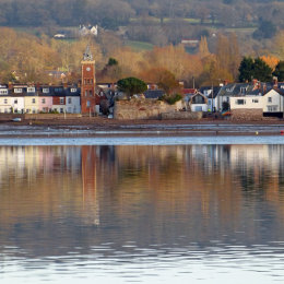 A view of Lympstone