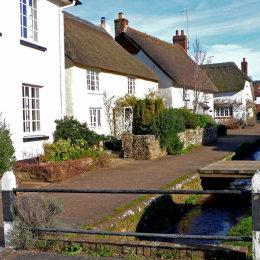 The village of Otterton