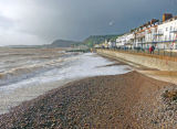 High tide at Sidmouth
