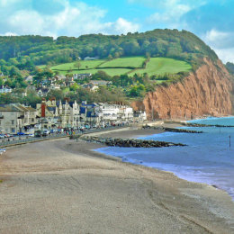 A view of Sidmouth
