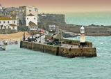 A stormy St Ives