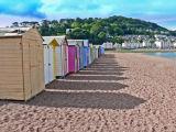 Beach Huts at Teignmouth