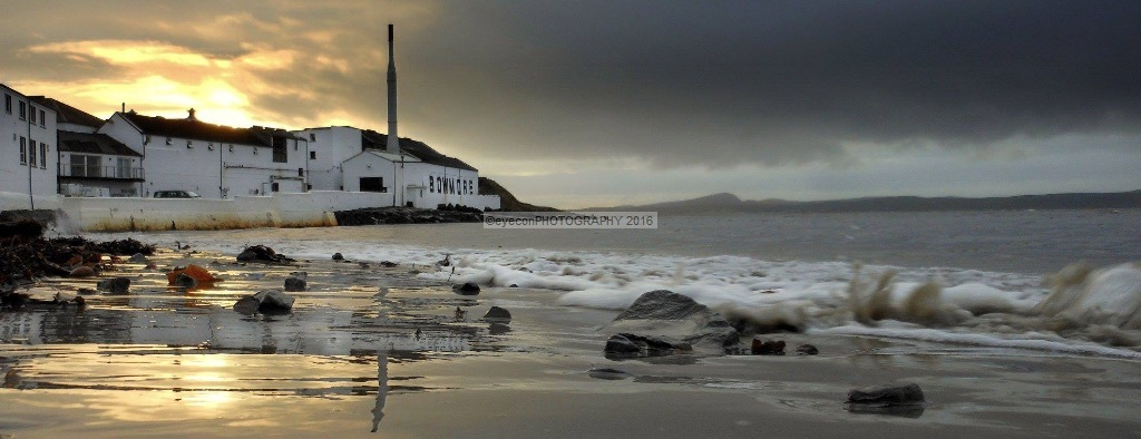 Reflections of Bowmore Distillery