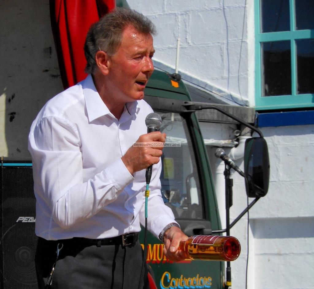 Master distiller Jim McEwan
