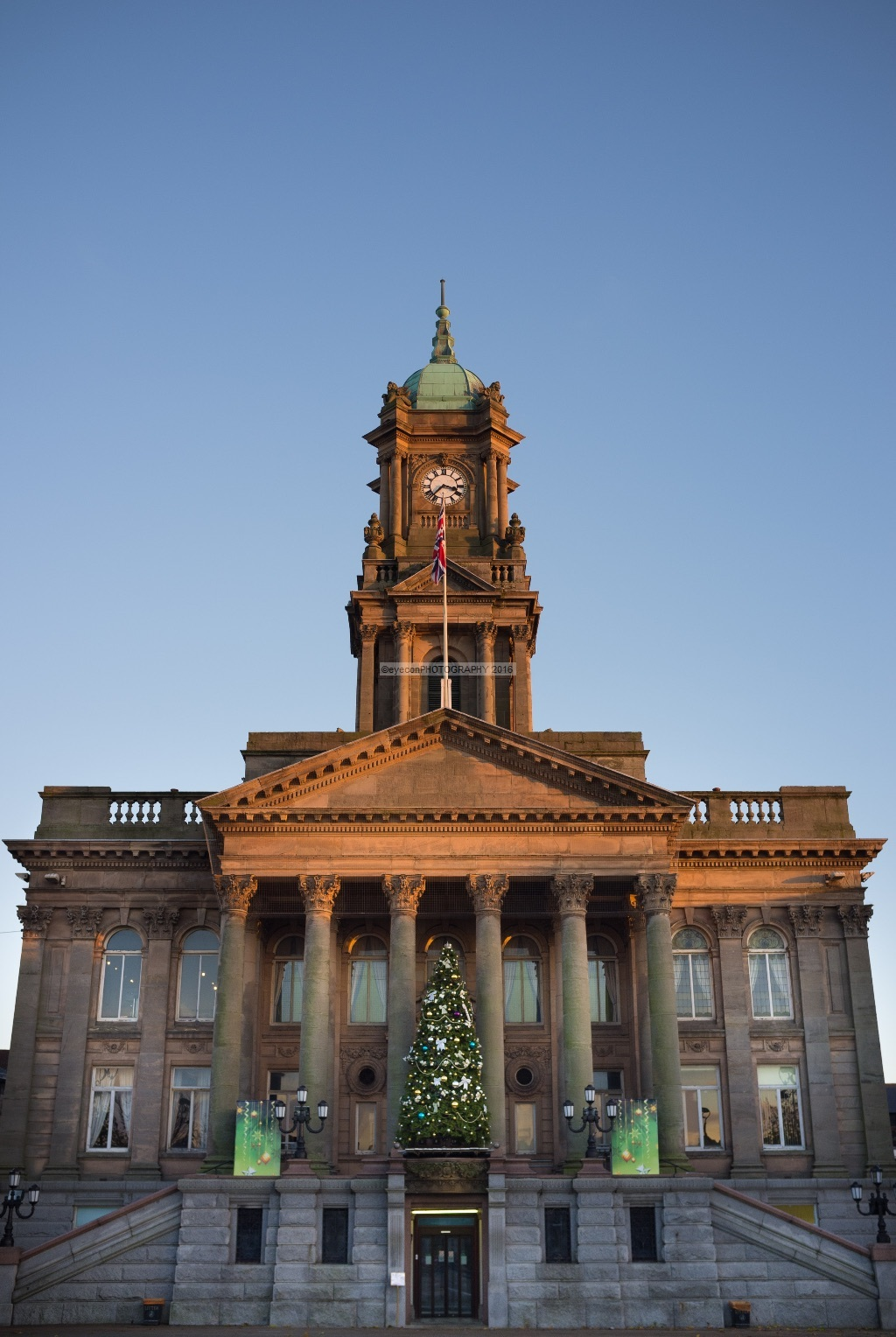 Christmas at Birkenhead Town Hall