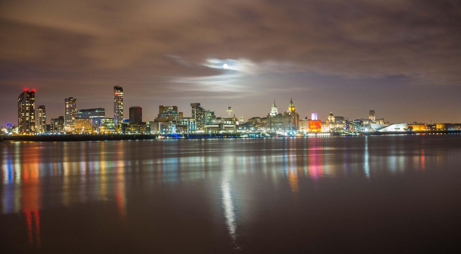 City of Liverpool Skyline
