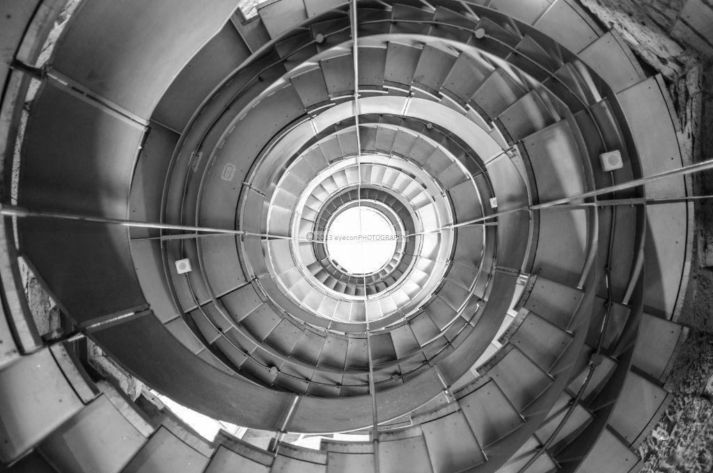 Looking Up The Spiral