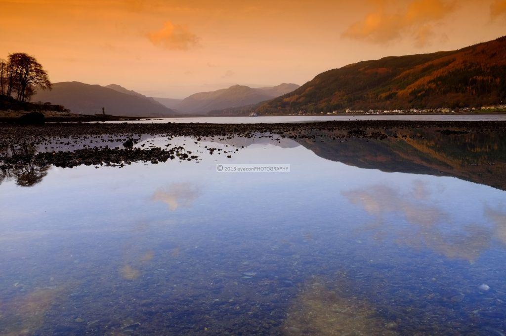 Holy Loch at dusk
