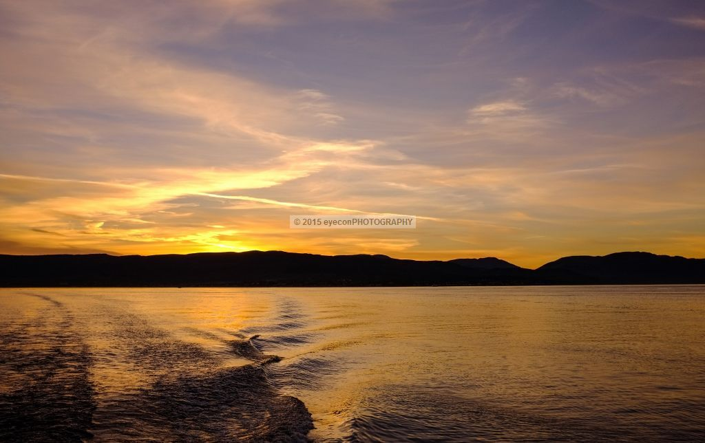 River Clyde Sunset