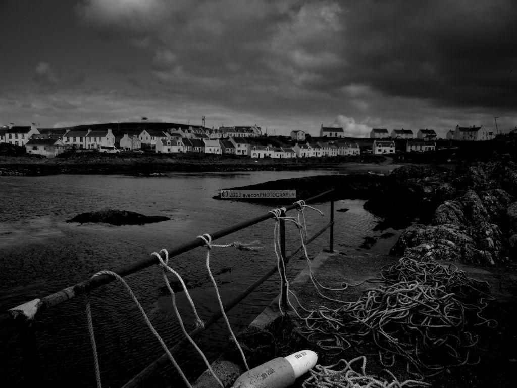 Fishermen's ropes at Portnahaven