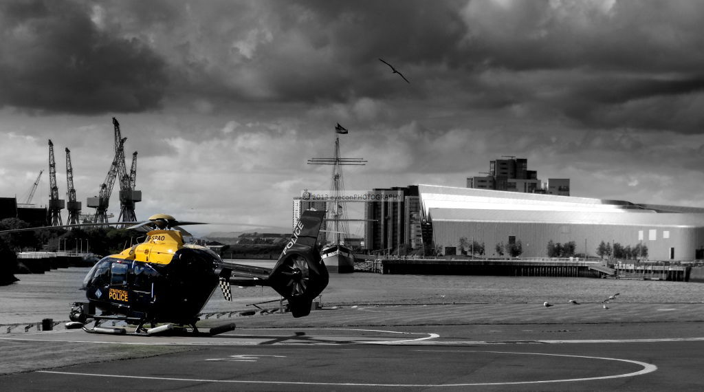 Strathclyde Police Clyde Heliport