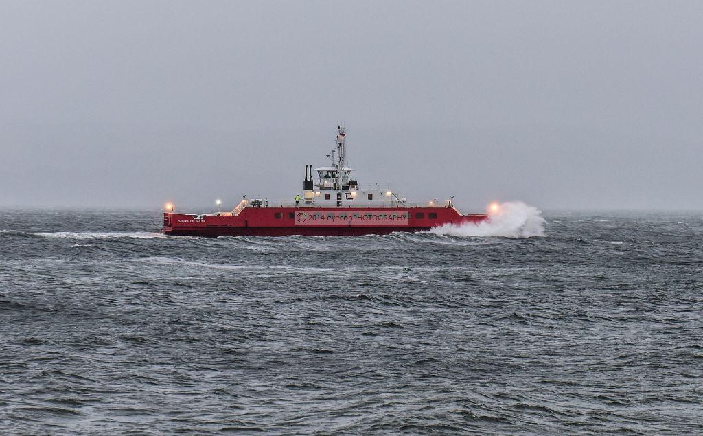 Western Ferries Storm
