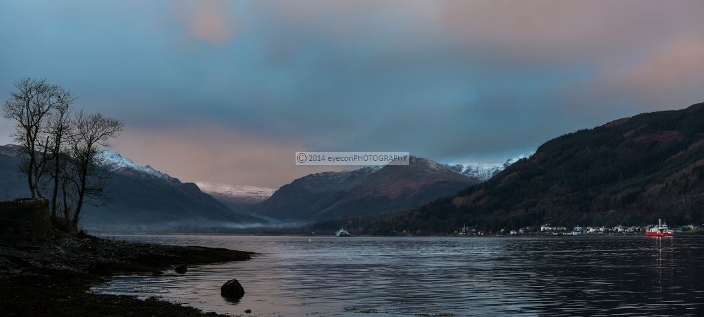 Winters Morning At Holy Loch